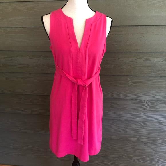 J. Crew Dresses & Skirts - 🍌J Crew sleeveless Pink 100% Cotton dress Small